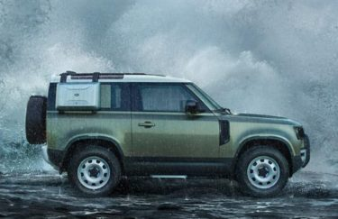 New LAND ROVER DEFENDER デビュー